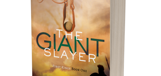 A 3-D book cover image of The Giant Slayer